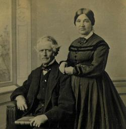 William Comstock and wife