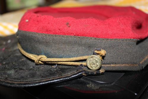 Confederate kepi