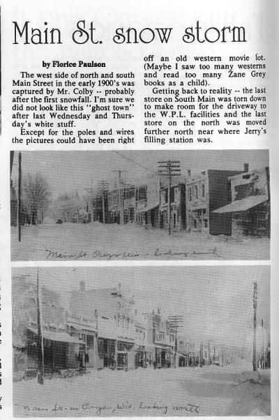 Main St. Snow Storm article