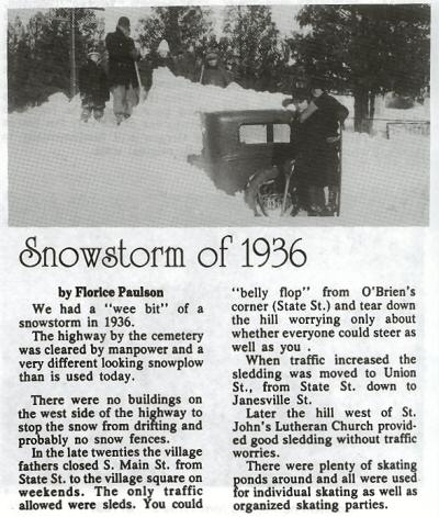 Snowstorm of 1936 article