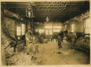 Blacksmith shop photo on postcard