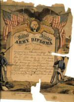 Elias Jacobus's Army Diploma