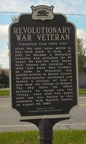 Revolutionary war vet sign side 2