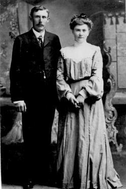 Hans Peter Christensen and wife Anna Juliane Jensen