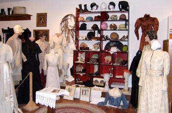 Dress Exhibit at the Oregon Area Historical Society