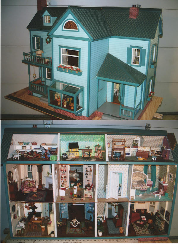 Doll house display