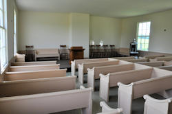 Rutland Center Church Interior