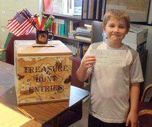 Another Treasure Hunt winner