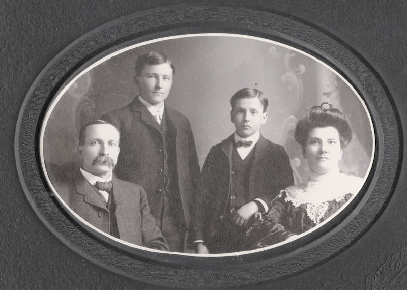William T. Williams family